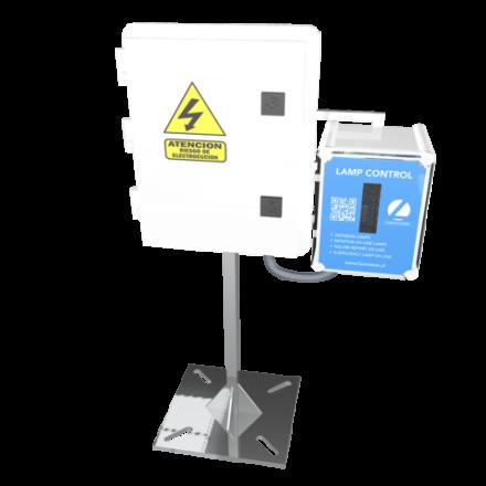 Sistema de control y monitoreo en linea de fotoperiodo Lamp Control
